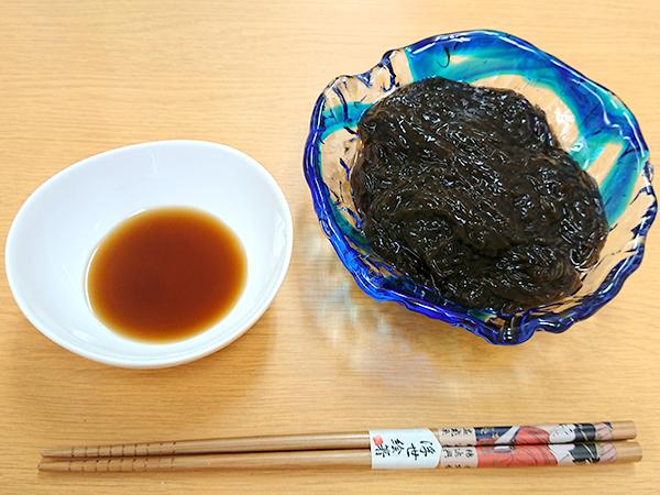 めんつゆで、そうめんのように/沖縄県久米島産の天然生もづく10kg